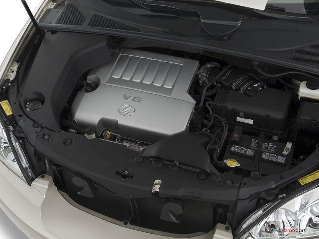 Động cơ V6 204 mã lực của RX350 đời 2009