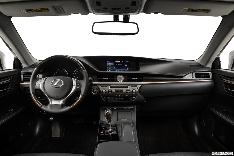 nội thất khoang cabin lái Lexus ES350 đời 2015