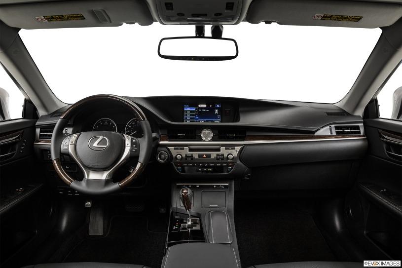 cabin khoang lái Lexus ES350 đời 2014