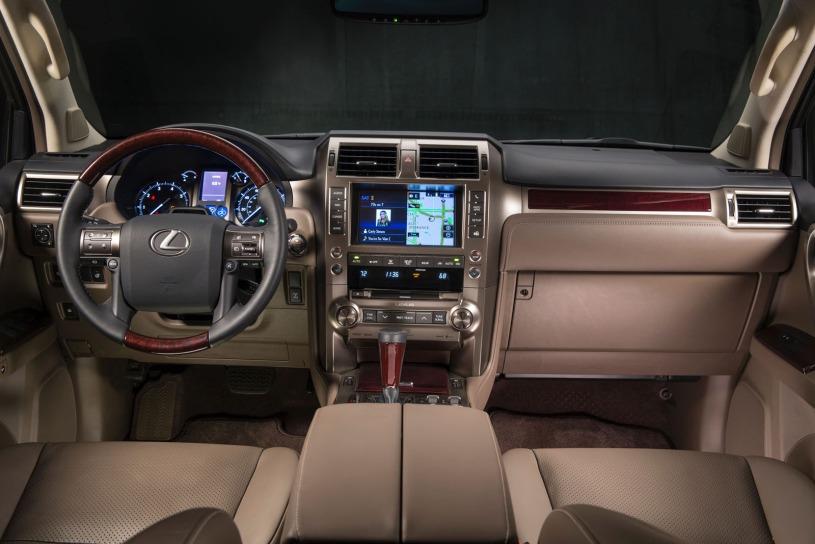 cabin khoang lái Lexus GX460 đời 2016