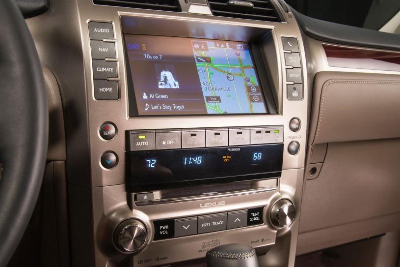 hệ thống giải trí Lexus GX460 đời 2016