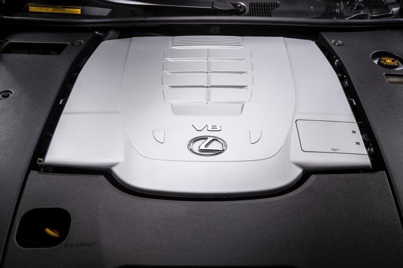 động cơ trên Lexus LS460L 2016