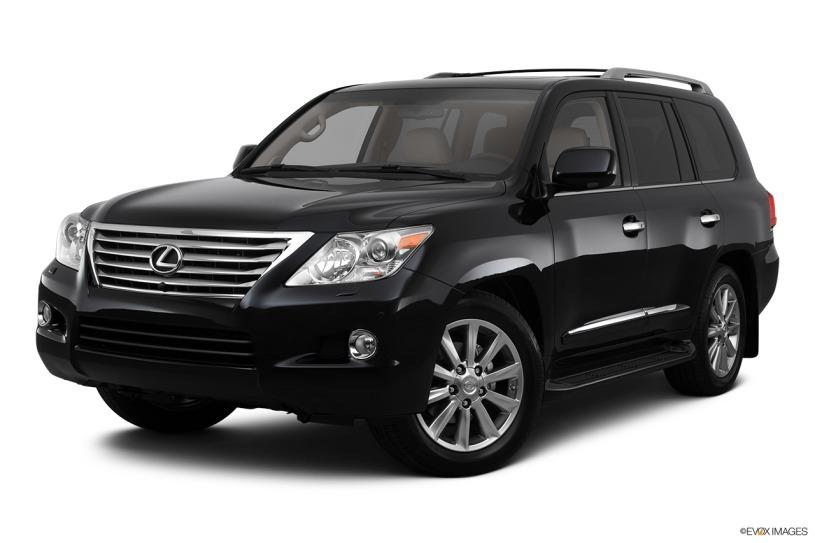Đánh giá về ngoại thất xe Lx570 đời 2011