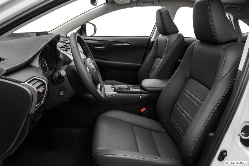 hàng ghế đầu Lexus NX200t 2015