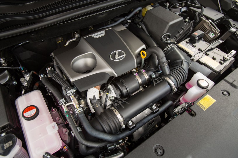 động cơ trên Lexus NX200t 2016