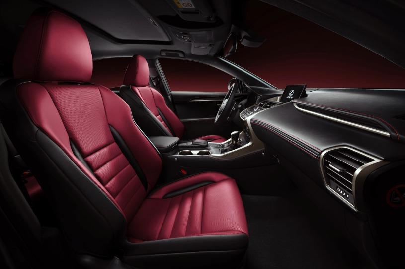 hàng ghế trước Lexus NX200t 2017