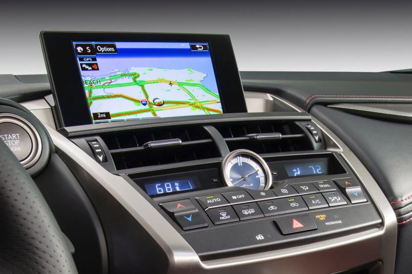 hệ thống giải trí Lexus NX200t 2017