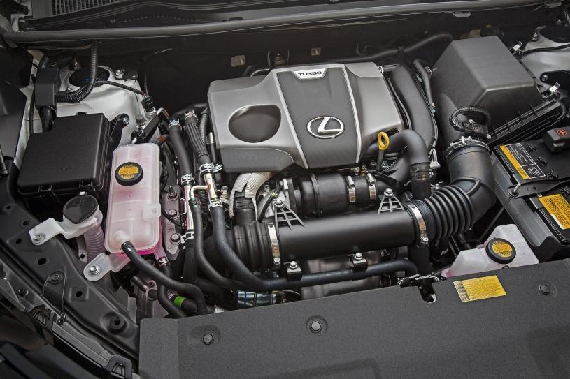 động cơ trên Lexus NX200t 2017