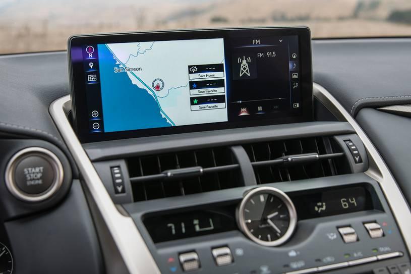 bảng điều khiển trung tâm taplo xe lexus nx300 2018