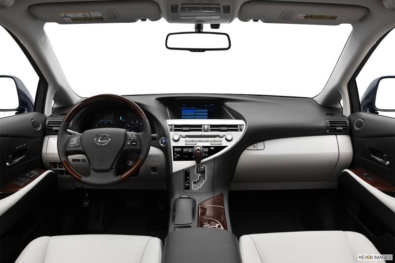 nội thất cabin Lexus rx450h đời 2011