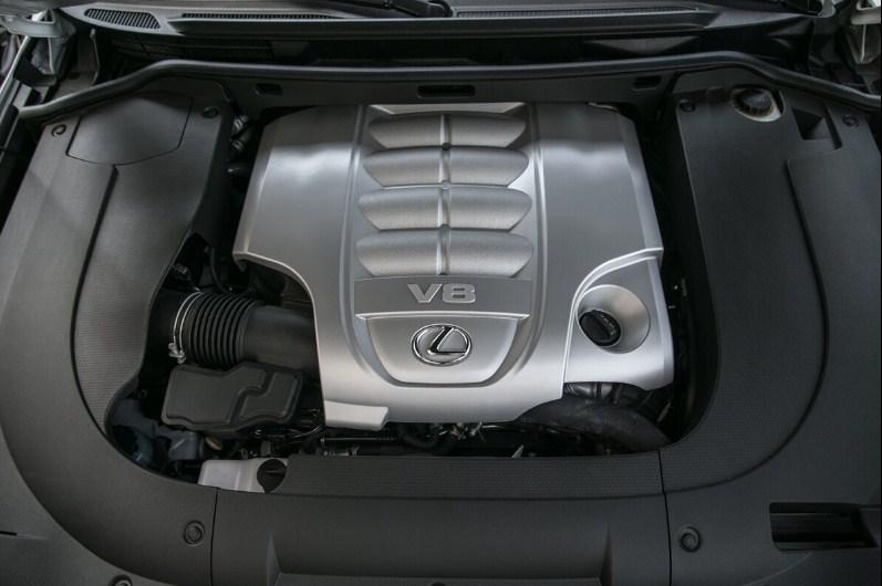 động cơ v8 trên lexus lx570