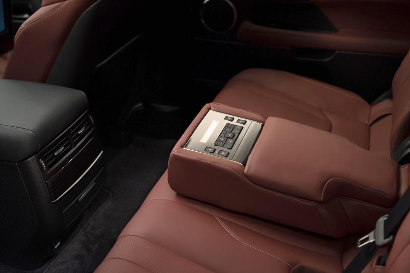 bệ tỳ tay trên hàng ghế thứ 2 Lexus LX570