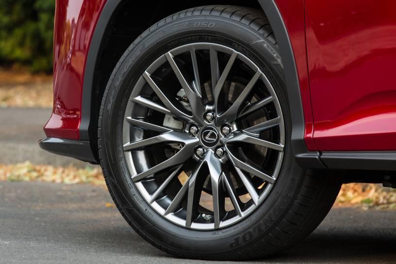 bánh lazzang và lốp xe RX450h 2019