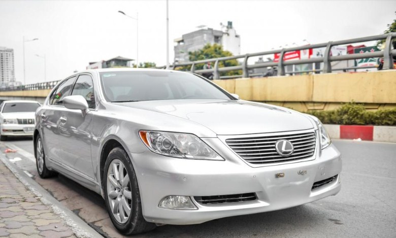 Giá xe lexus LS460L 2008