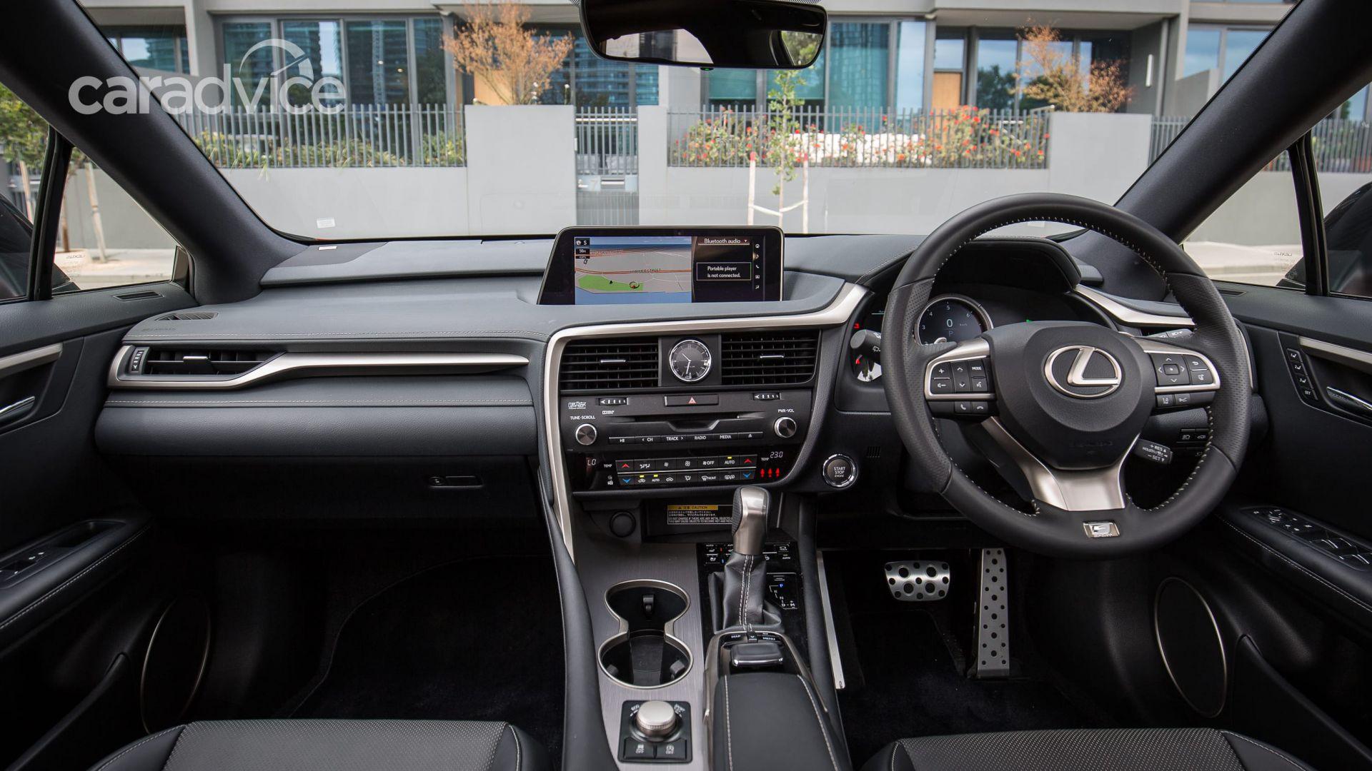 nội thất Lexus RX200t