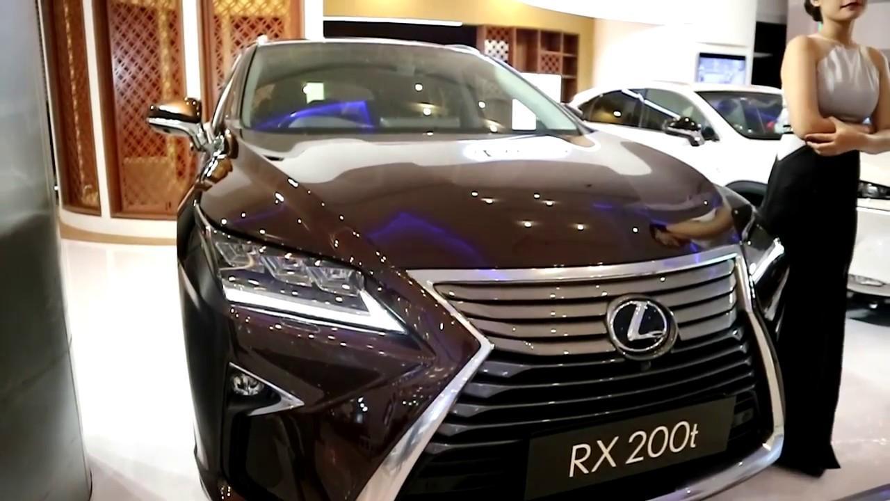 Đánh giá xe Lexus RX200t 2018 nội ngoại thất động cơ và trang bị an toàn
