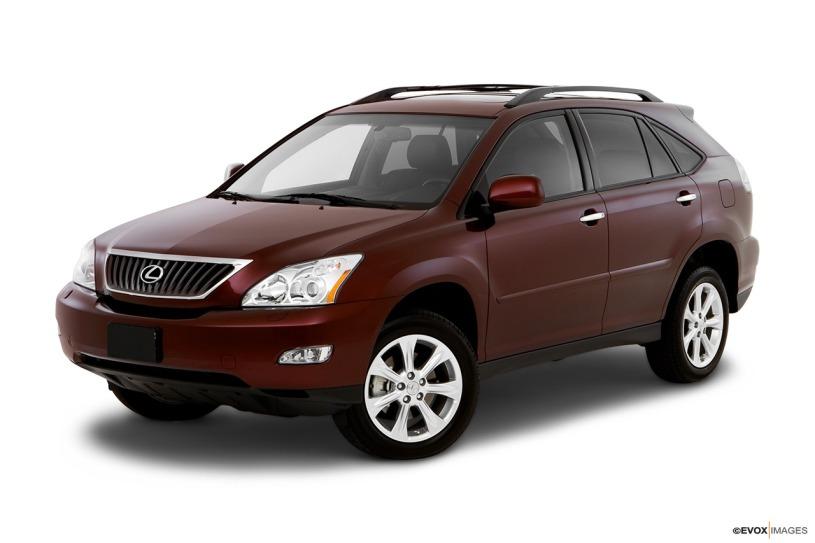 Đánh giá xe Lexus RX 350 2008 lăn bánh hơn 10 năm giá bán 1.2 tỷ