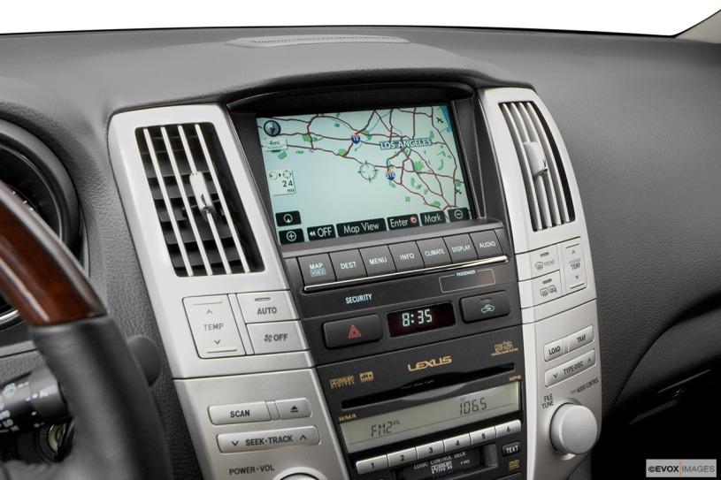 hệ thống giải trí xe Lexus RX350 2008