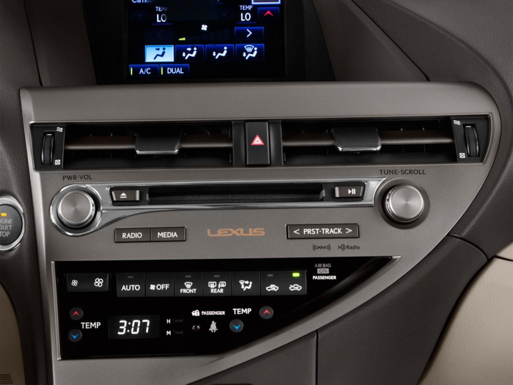 hệ thống giải trí của Lexus RX350 2014