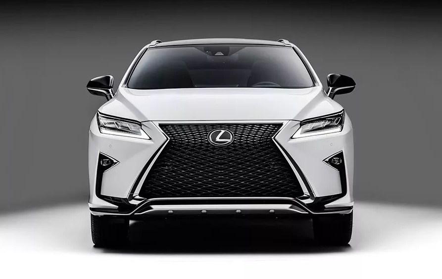 thiết kế phần đầu Lexus RX350 2017