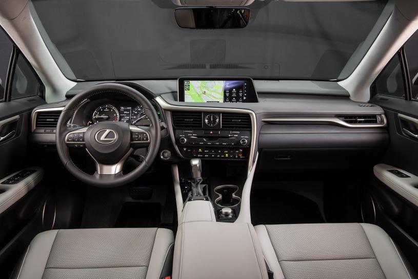 Nội thất Lexus RX350 2016 đã qua sử dụng