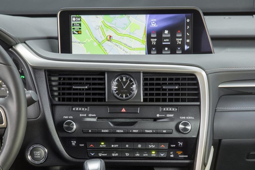 hệ thống giải trí trung tâm Lexus RX350 2016