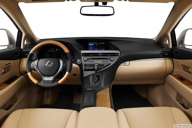 cabin nội thất Lexus RX450h 2014