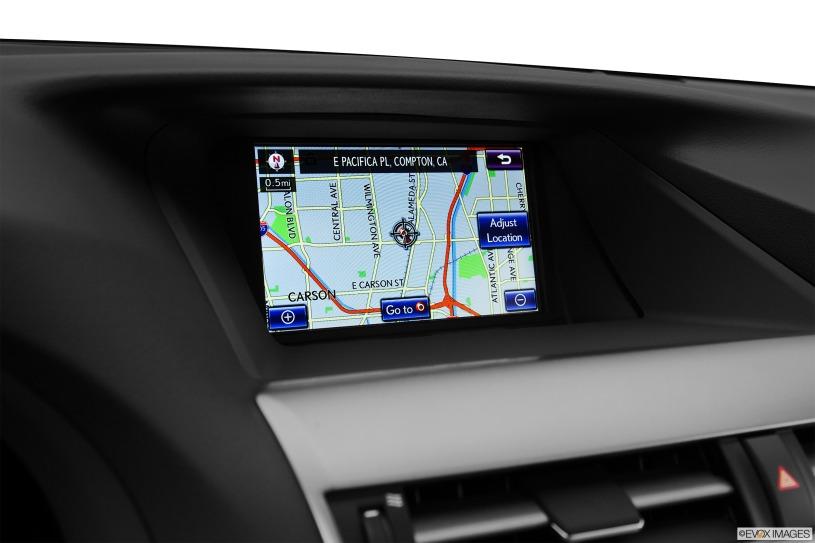màn hình trung tâm taplo Lexus RX450h 2014