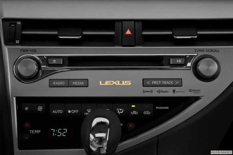 hệ thống giải trí Lexus RX450h 2014