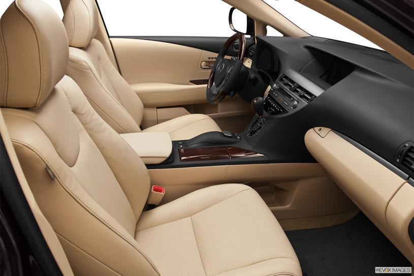 nội thất hàng ghế đầu Lexus RX450h 2013
