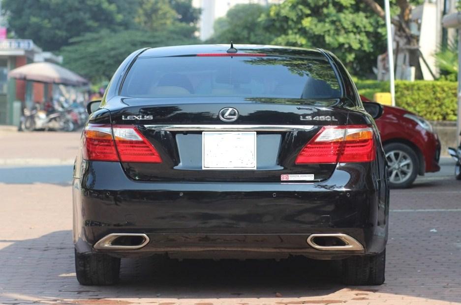 Lexus LS460L 2011 màu đen