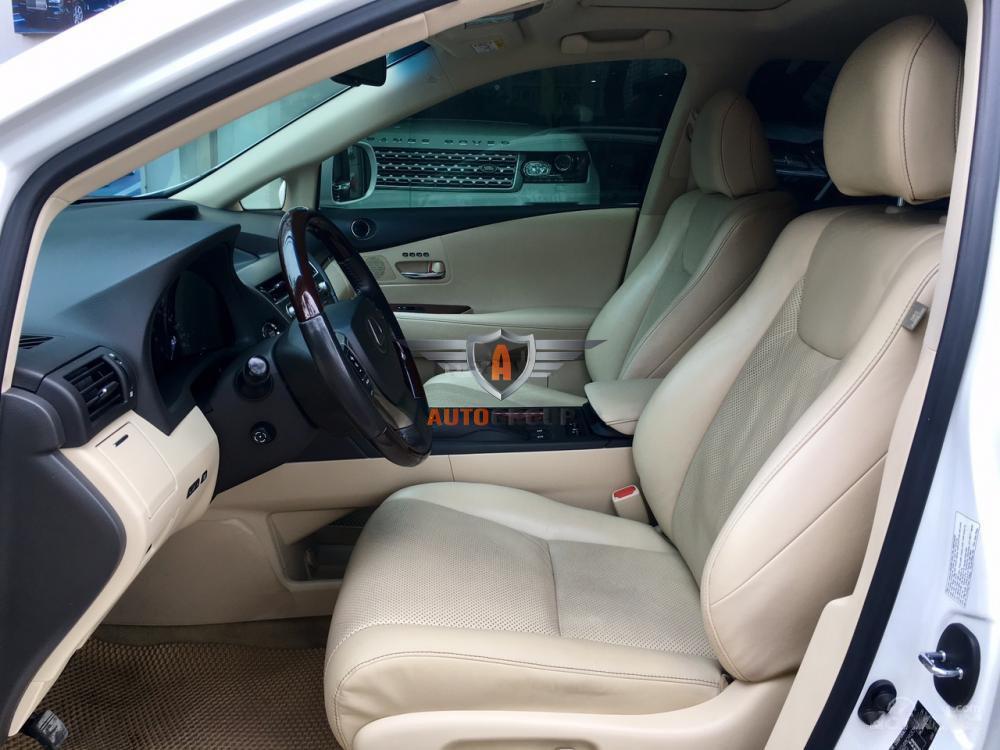 Lexus RX350 sản xuất 2015 màu trắng nội thất kem