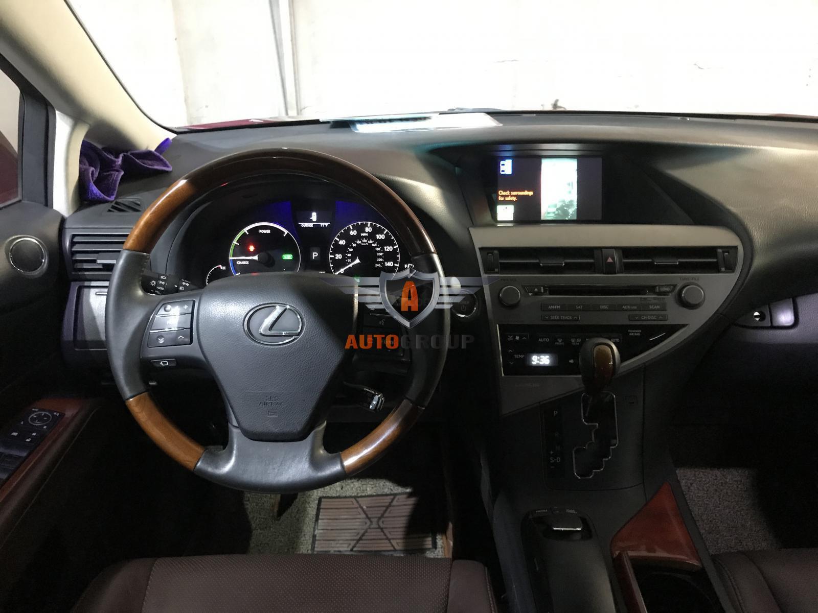 Bán Lexus RX450h model 2009 đỏ đen