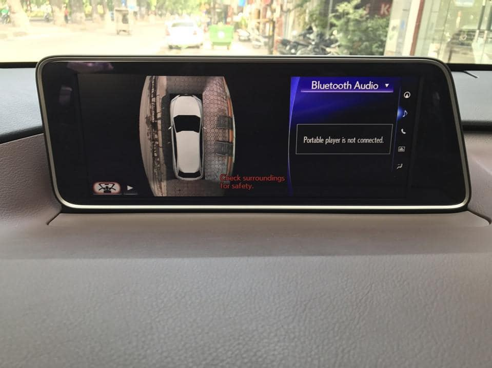 Lexus RX450h 2016 màu trắng đăng ký 2018