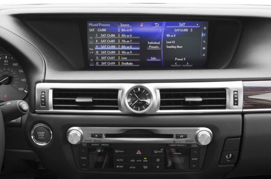 Nội thất Lexus GS350 2019: sang trọng, công nghệ và đẳng cấp