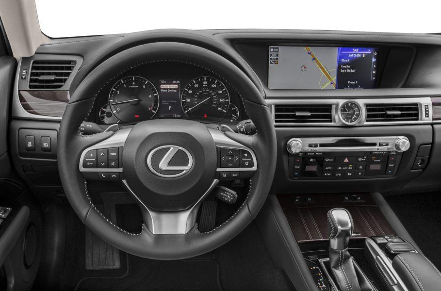 nội thất khoang cabin lái lexus gs350 2019