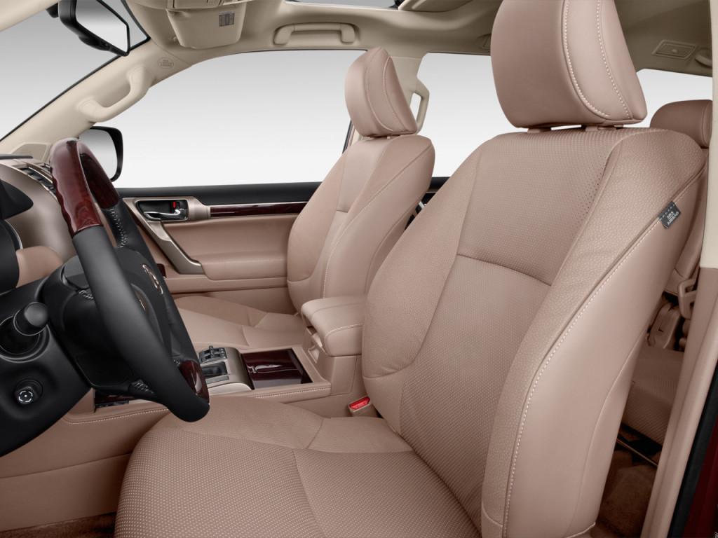 hàng ghế đầu Lexus GX460 2019