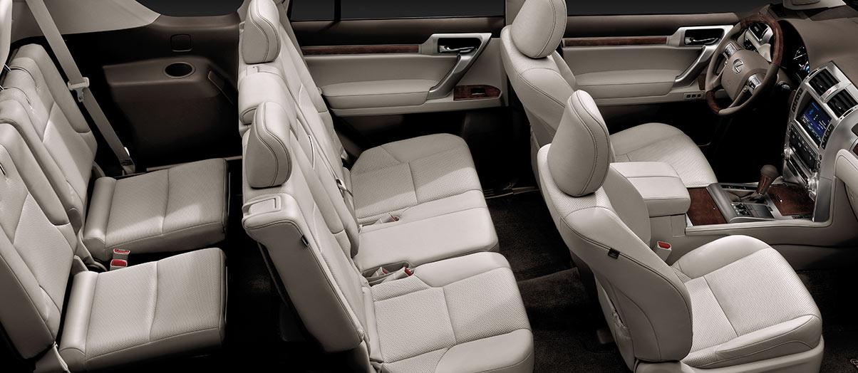 Nội thất Lexus GX460: Đơn giản và tiện nghi
