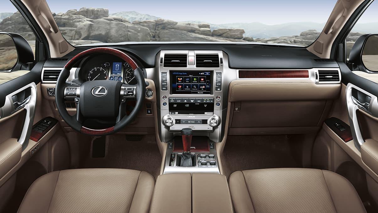 nội thất Lexus GX 460