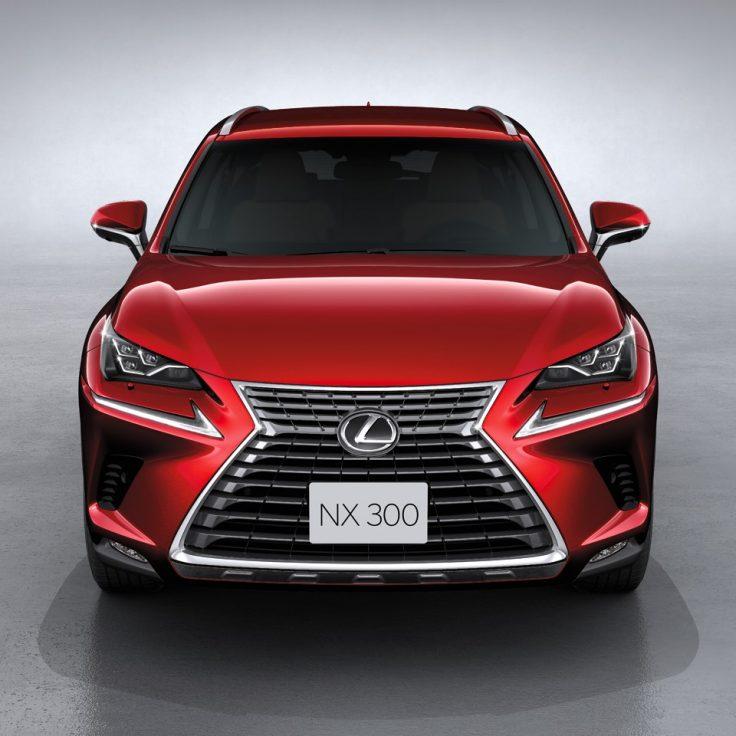 Phần đầu xe lexus nx300 2019