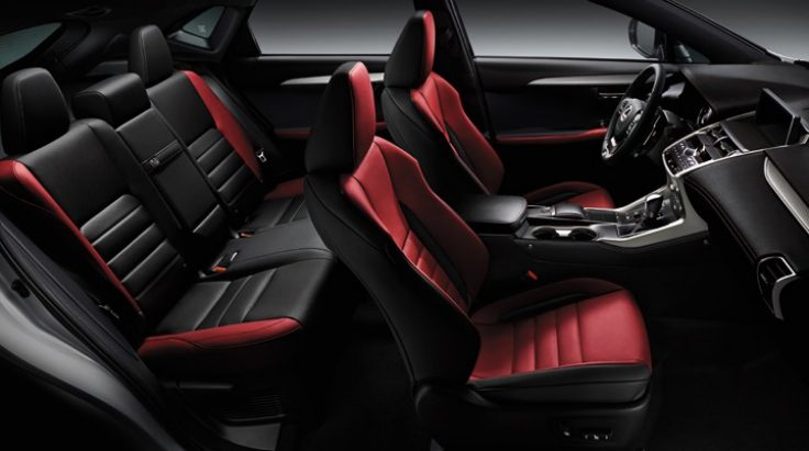 tổng quan nội thất Lexus NX300 2018