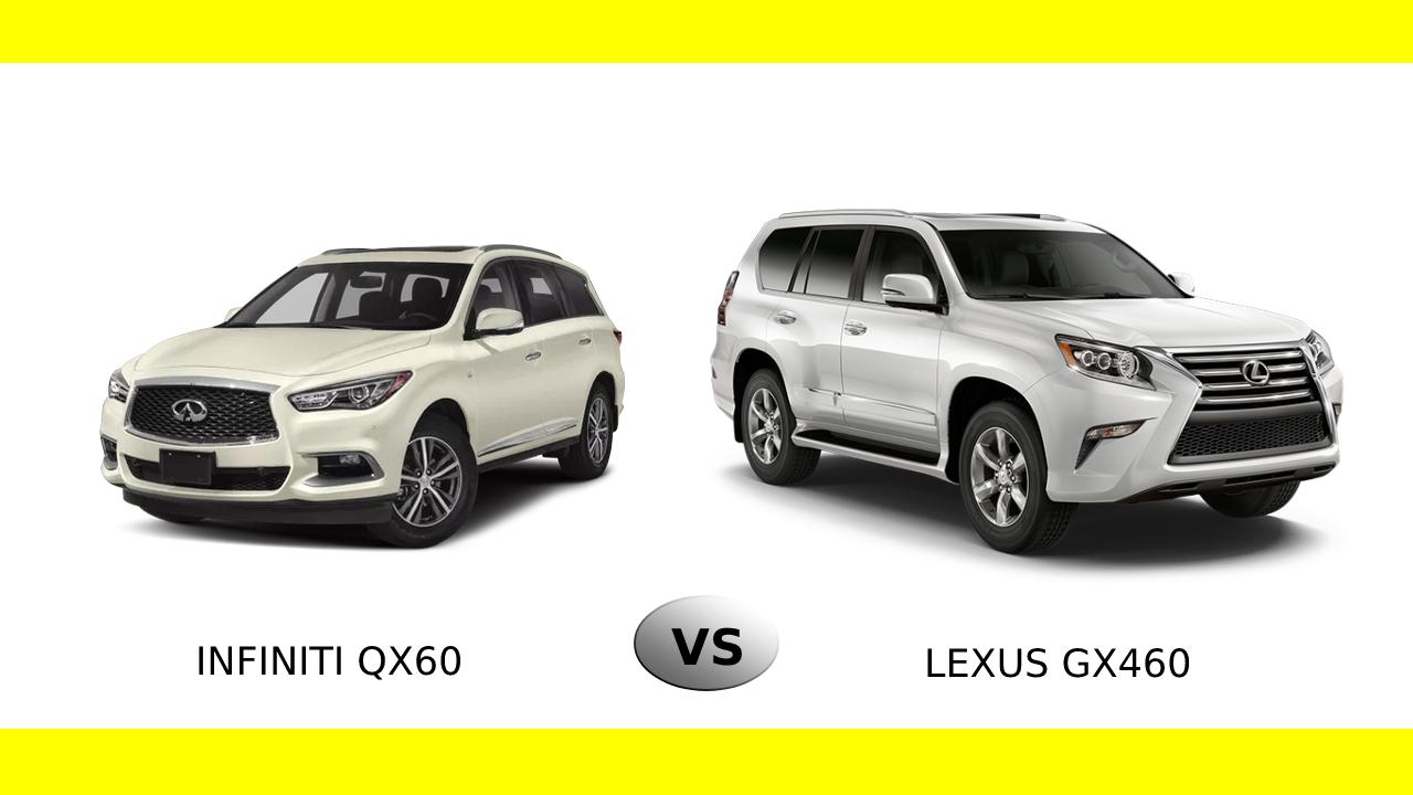 Infiniti QX60 vs Lexus GX460