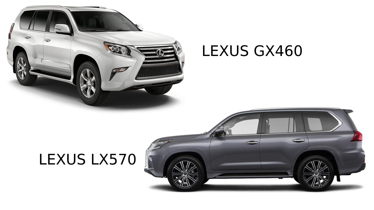 So sánh Lexus GX460 vs Lexus LX570: Sự khác biệt là gì?
