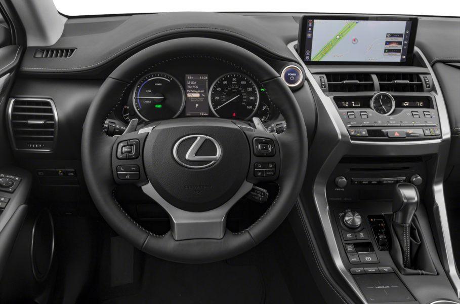 nội thất tiện nghi trên Lexus NX300h