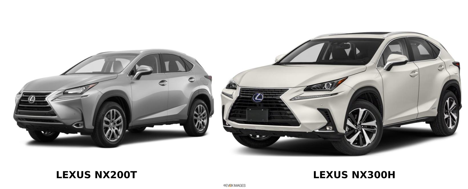 So sánh Lexus NX200t và Lexus NX300h: bản nâng cấp đổi tên có gì khác biệt
