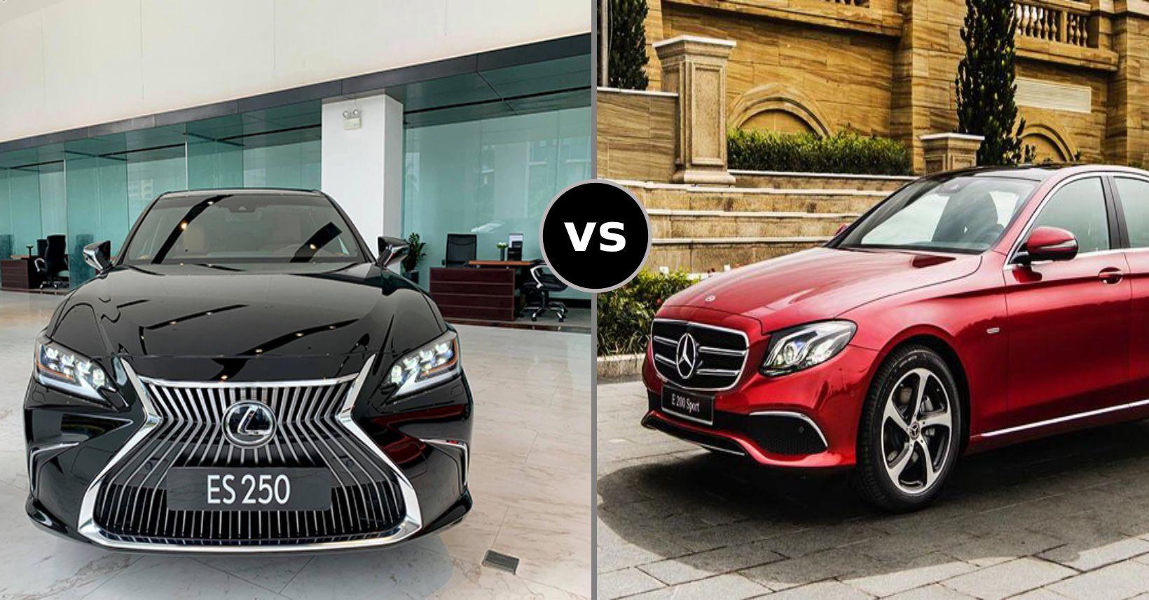 So sánh Lexus ES2020 và Mercedes E200 Sport: Nét đẹp truyền thống Takumi và chất thể thao đến từ Stuttgart