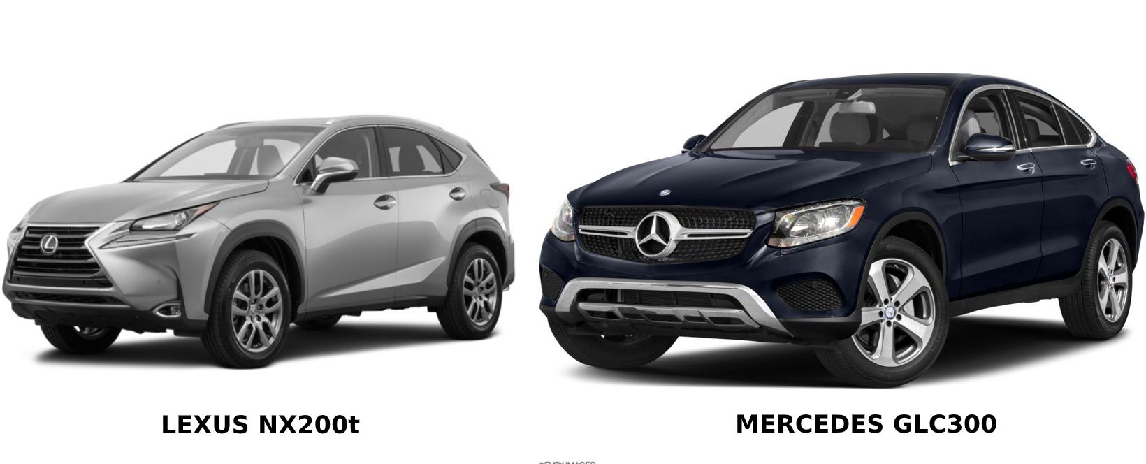 So sánh Lexus NX200t và Mercedes GLC 300: Chọn Nhật thể thao hay Đức mạnh mẽ