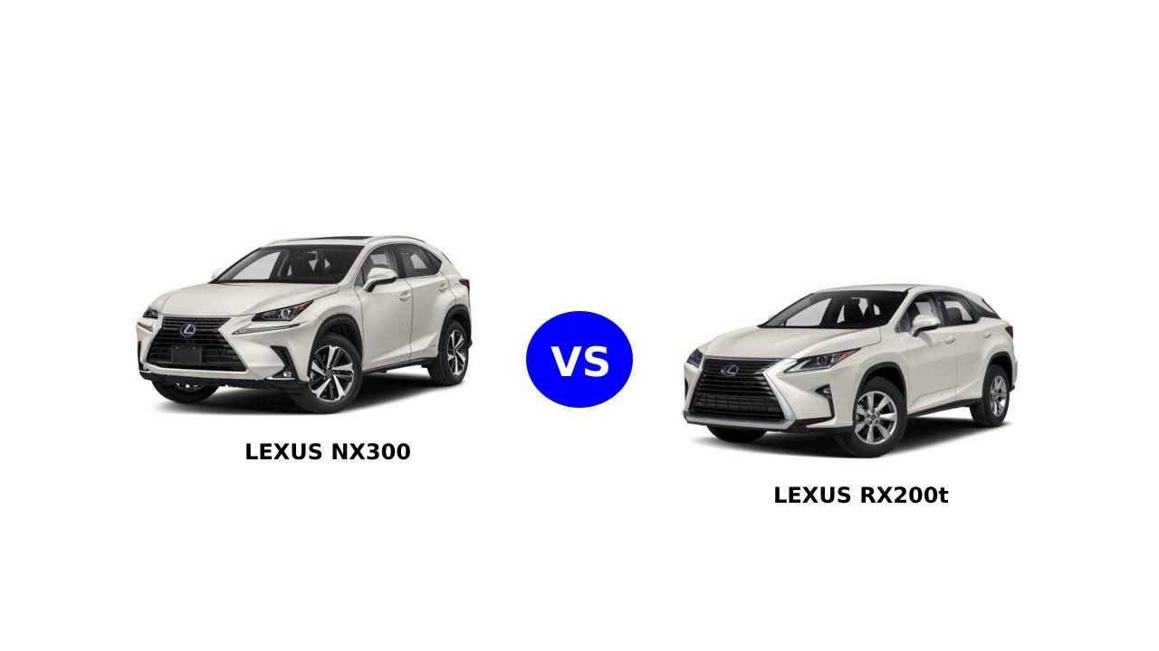 So sánh Lexus RX200t và NX300: những điểm giống và khác nhau