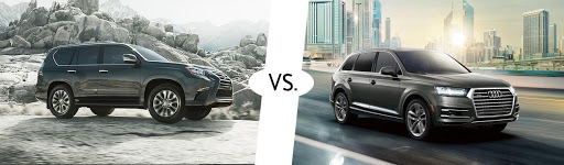 Về động cơ Lexus GX460 và Audi Q7