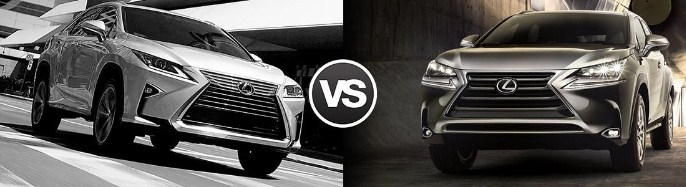 So sánh Lexus RX350 vs NX200t 2015